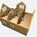 Дом из бруса Гжель (1)