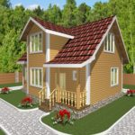 Дом из бруса Гжель (3)