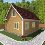 Дом из бруса Гжель (4)