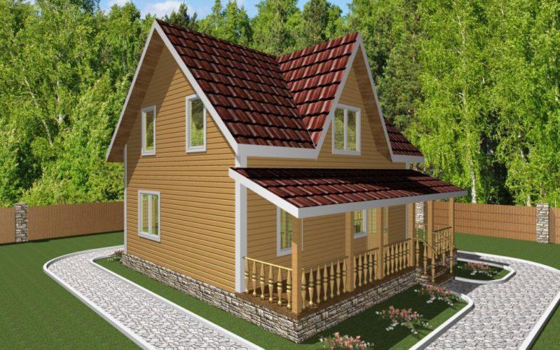 дом из бруса горки (2)