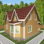 дом из бруса горки (4)