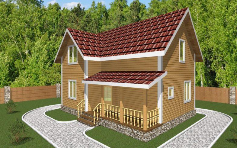 Дом из Бруса Кашира (3)