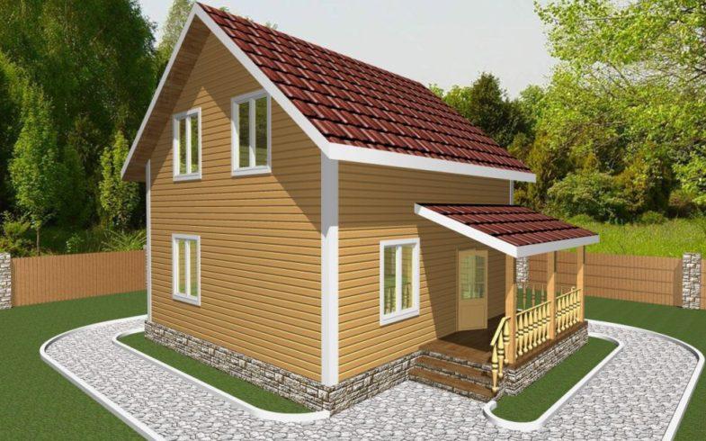 Дом из Бруса Ржев (2)