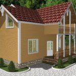 Дом из бруса Барвиха (1)