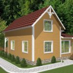 Дом из бруса Барвиха (2)
