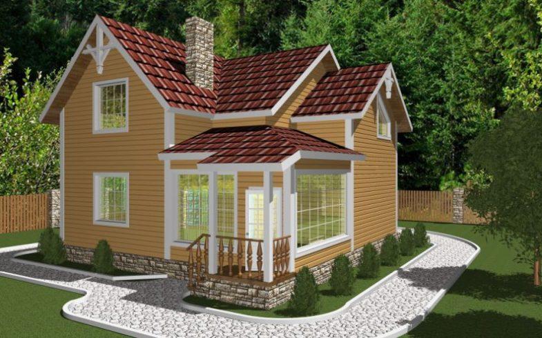 Дом из бруса Барвиха (3)