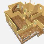 Дом из бруса Дубки (3)