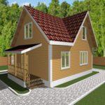 Дом из бруса Иваново (1)