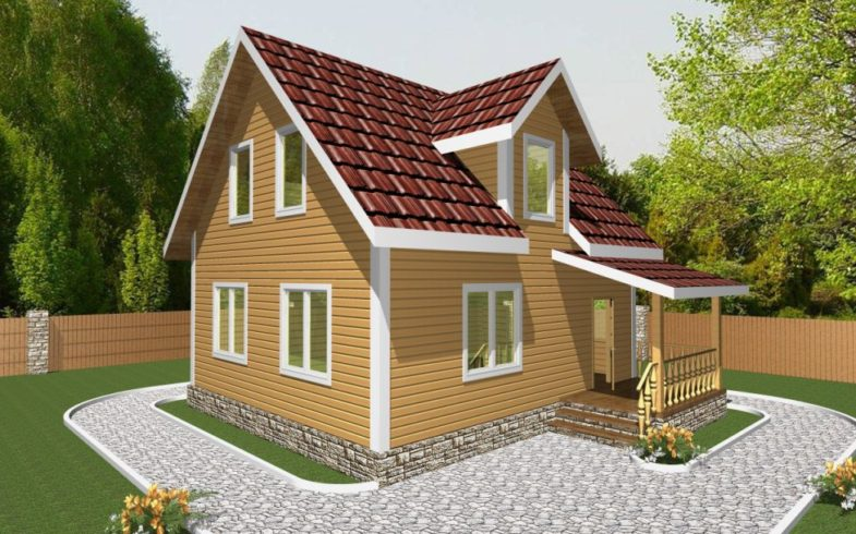 Дом из бруса Клин (2)