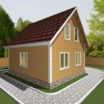 Дом из бруса Клин (4)