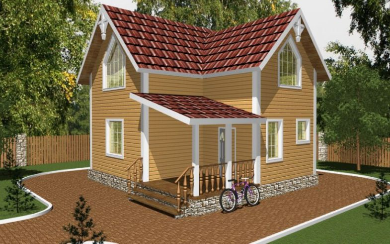 Дом из бруса Коломна (1)