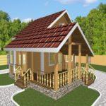 Дом из бруса Ковров (1)