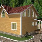 Дом из бруса Лоза (5)