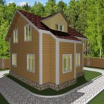 Дом из бруса Муром (3)