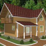Дом из бруса Ногинск (1)