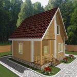 Дом из бруса Руза (2)