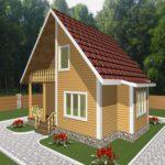Дом из бруса Руза (3)
