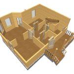 Дом из бруса Шатура (8)
