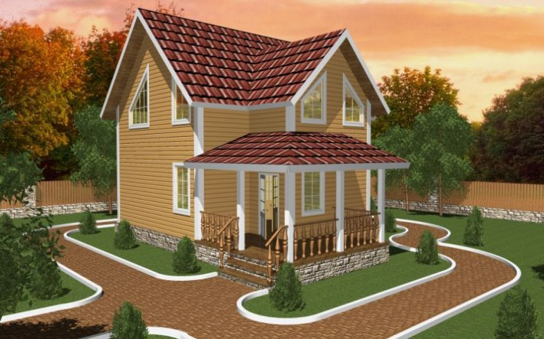 Дом из бруса Сосны (1)