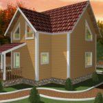 Дом из бруса Сосны (8)