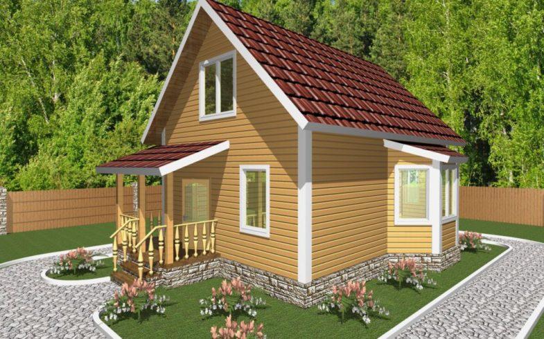 Дом из бруса Суздаль (2)