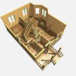 Дом из бруса Суздаль (7)