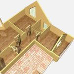 Дом из бруса Троицк (2)