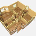 Дом из бруса Троицк (3)
