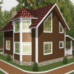 Дом из бруса Троицк (7)