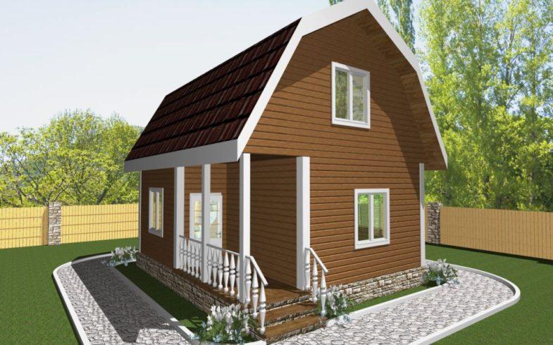 Дом из бруса Тула (1)