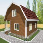 Дом из бруса Тула (2)