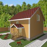 Дом из бруса Углич (2)