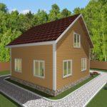 Дом из бруса Углич (3)