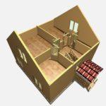 Дом из бруса Углич (8)
