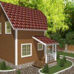 Дом из бруса Жуков (1)