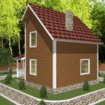 Дом из бруса Жуков (7)