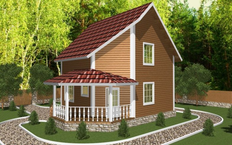 Дом из бруса Жуков (8)