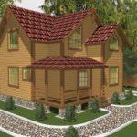 Проект дома Одинцово (1)