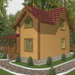 Проект дома Одинцово (2)