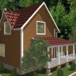 Проект дома Реутов (7)
